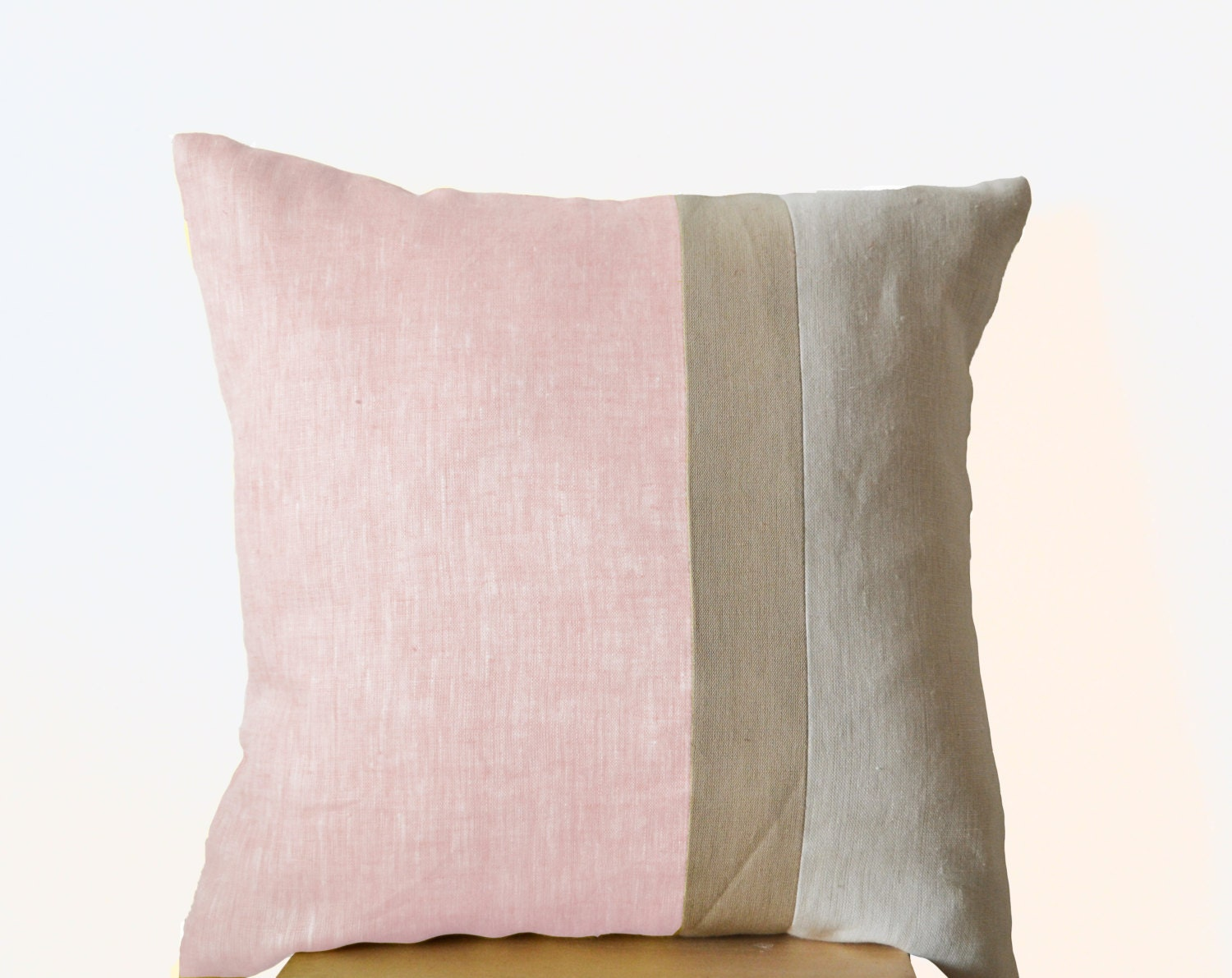 Pink Throw Pillows For Couch : Pink Pillow Throw Pillows color block Couch Pillows