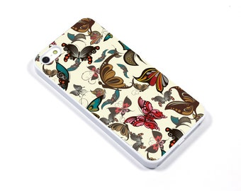 iPhone 5/5s iPhone 5c iPhone 6/6plus Samsung Galaxy S3 S4 S5 iPod touch 4th/5th Gen - butterfly butterflies insects- p31