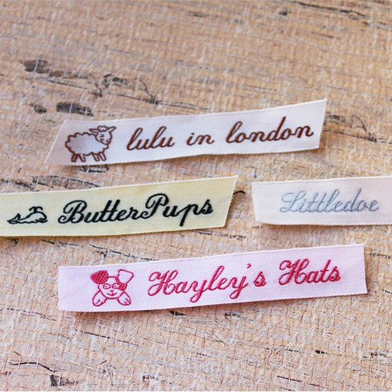sewing labels knitting labels custom labels garment labels With knitting labels sew on
