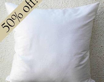 """White Silk Dupioni Pillow Cover 15 x 15  - """"HALF PRICE SALE"""" - s27F"""