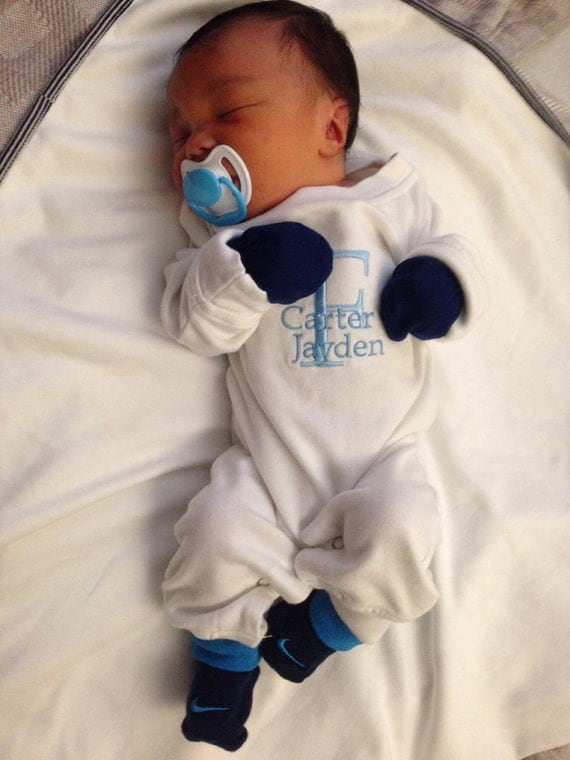 Baby Boy Coming Home Outfit Personalized By Babyspeakboutique