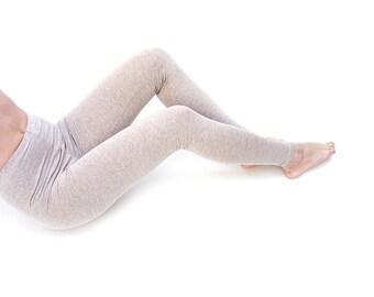 Heater Basic Beige wool - winter leggings