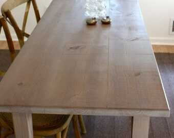 Gray French Farmhouse Desk
