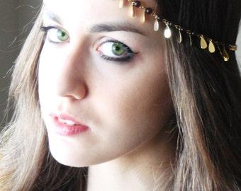 CHAIN HEADPIECE Head Chain.