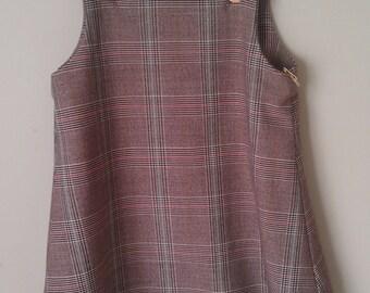 Girls Winter Pinafore Dress - size 4