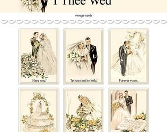 Wedding postcards | Etsy