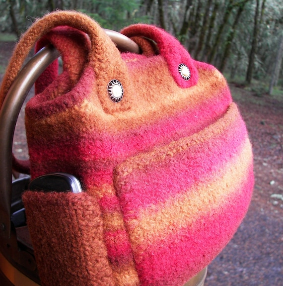 Knit and Felted Bag Pattern Sonora Bag