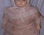 HTF  Composition Chunky Baby Mama Doll by RBL rare manufacturer to find