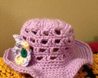 Baby Girl Sun Hat
