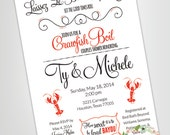 Crawfish Boil Couples Shower Invitation