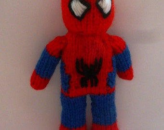 FREE SPIDERMAN DOLL KNITTING PATTERN - VERY SIMPLE FREE KNITTING PATTERNS