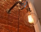 Pulley Light - Wall Light - Industrial Lighting - Lighting - Wall lighting - Industrial light - Bar Light - Pub Light - Steampunk Light