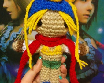 Made-To-Order Inspired by Squarenix's Final Fantasy X-2 Rikku amigurumi