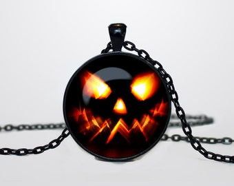 Halloween necklace Halloween pendant Halloween jewelry Pendant