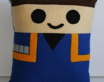 Star Trek Captain Jonathan Archer Mini Felt Cushion
