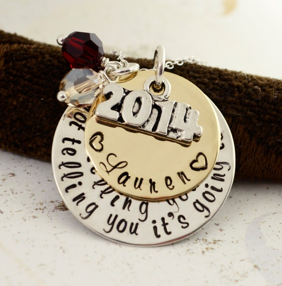 graduation necklace 2016 personalized by loveitpersonalized. Black Bedroom Furniture Sets. Home Design Ideas