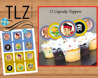 Jake Cupcake Toppers
