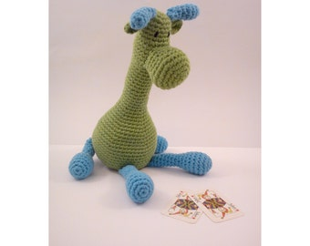 GIFEE Amigurumi - GIRAFFE - stuffed crochet toy - soft ...