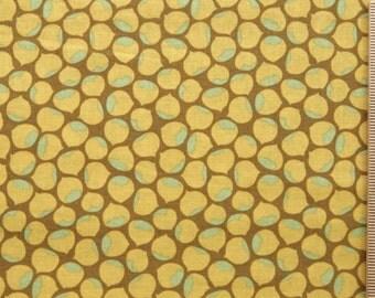 Joel Dewberry fabric Chestnut Hill Chestnuts JD10 Ochre 100% Cotton Free Spirit cotton Fabric by the yard