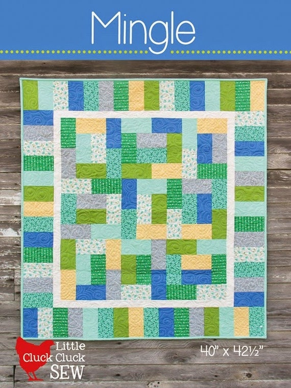 Mingle Quilt Pattern 149 New Little Pattern by Cluck Cluck