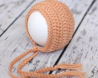 PDF Crochet Pattern Basic Newborn Bonnet