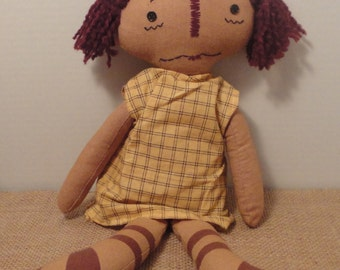 Primitive Look Rag Doll