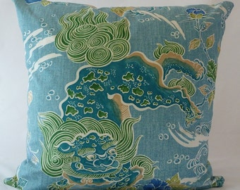 Brunschwig Amp Fils Quot Shishi Quot Dragon Chinoiserie Hand Made