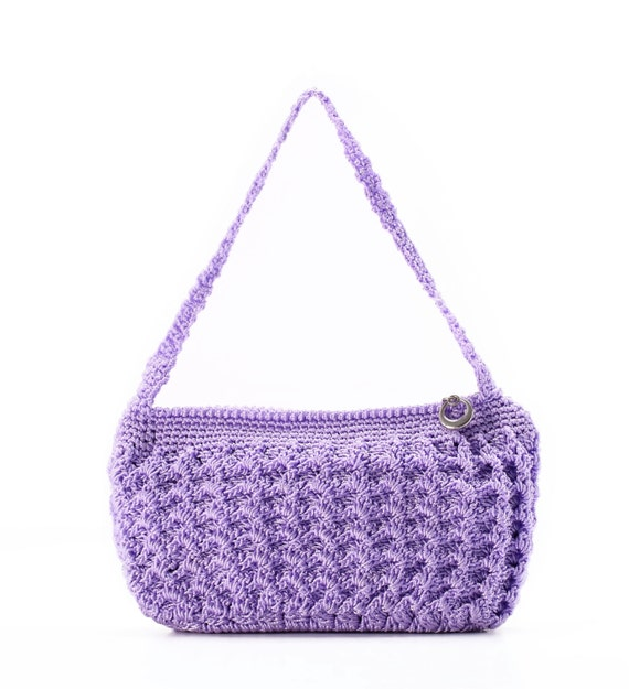 Crochet Small Bag : crochet bag crochet clutch bag purse wallet small wallet woman wallet ...
