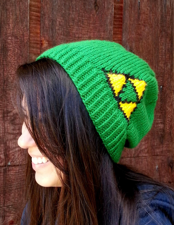 Legend Of Zelda Link Hat Knitting Pattern : Item Details