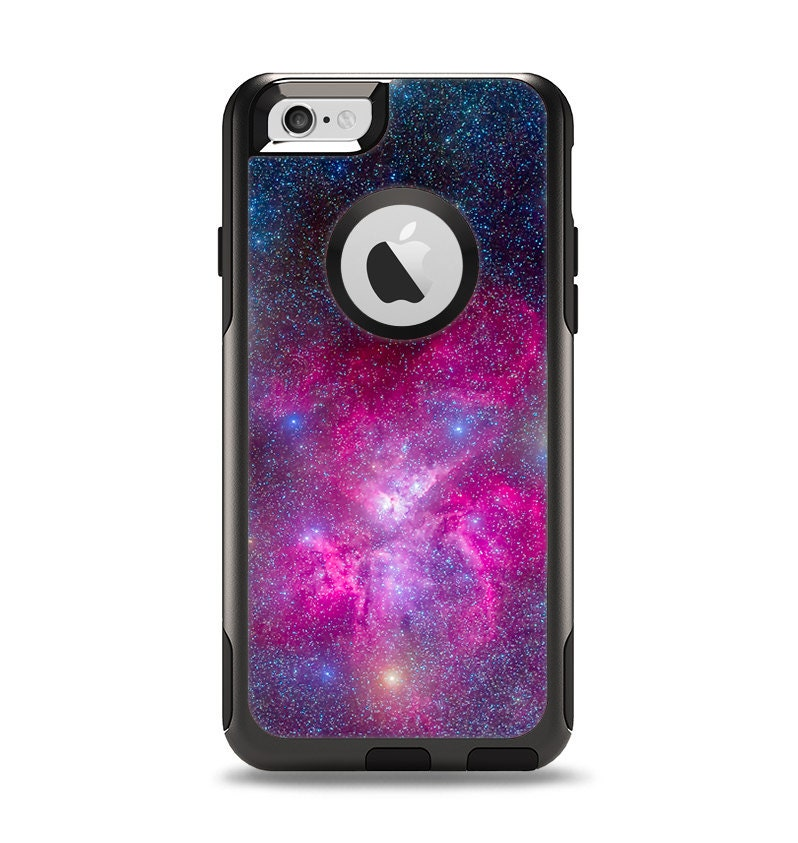 Case Design skinz phone case : The Pink u0026 Blue Galaxy Apple iPhone 6 Otterbox by TheSkinDudes