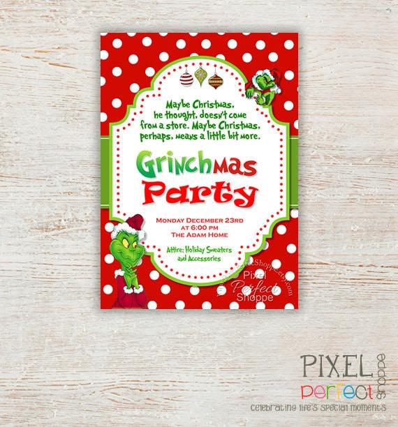 Christmas Invite Sayings