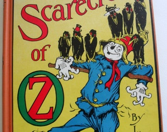 Vintage Book, The Scarecrow of Oz