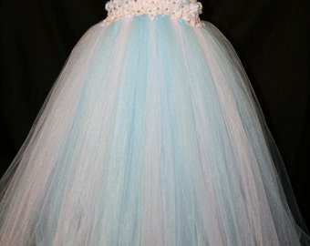 Frozen Inspired Tutu Dress, Frozen Tutu Dress, Elsa Tutu Dress, Princess Elsa Tutu Dress,  Tutu Dress, Elsa, Elsa Costume, Elsa Dress up