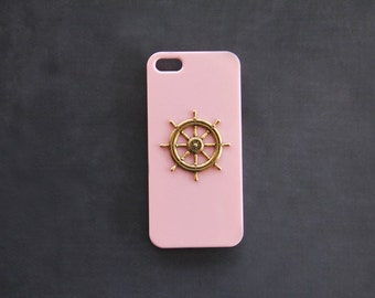 Pink iPhone  Case Pink iPhone 7 Case iPhone 7 Plus Nautical iPhone 6s  Nautical  Case Nautical Phone Case iPhone 5 Case iPhone 7 Case