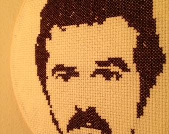 Burt Reynolds Crossstitch