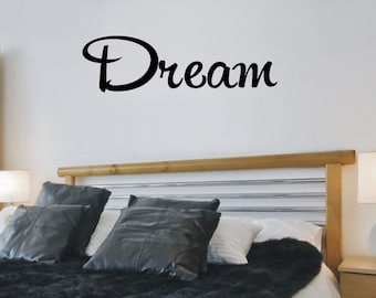 Dream Wall Decor bedroom wall decor dream a little dream of me wall decal