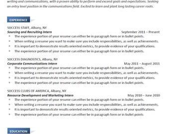 Resume Writing, Modern JM Design