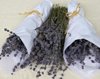 Fragrant Dried Lavender Bundles