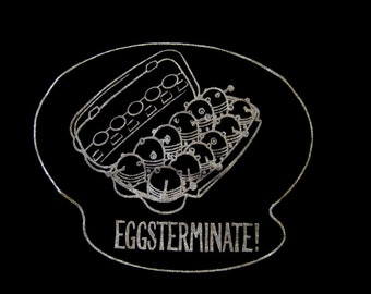 EGGSTERMINATE! Daleks from Doctor Who shirt