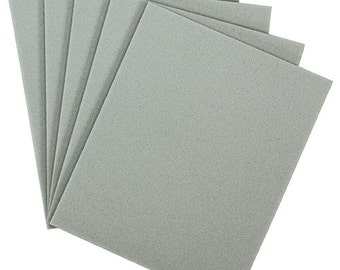 Sanding Sponges, Foam Rubber/Aluminum Oxide 280 grit (Pkg of 5)  (EM6005)