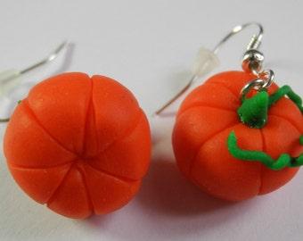 Pumpkin errings