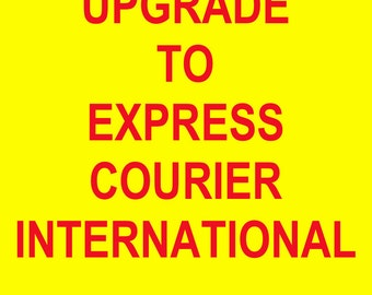 Upgrade to Express Courier International