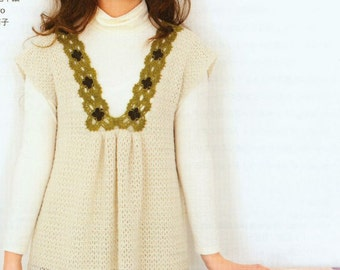 Women's Tops Blouses: Liz Claiborne NY Hand Crochet Short