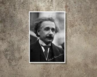 Science art - Albert Einstein - Super Stars of Science poster series