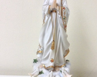 "Our Lady of Fatima Statue 8.0"" Inch Luciana Collection"