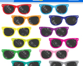 Sunglasses Digital Clipart for Instant Download. Sunglasses Clip Art. Summer Clip Art. Sunglasses Clipart. Sunglasses Vector, Summer Vector.