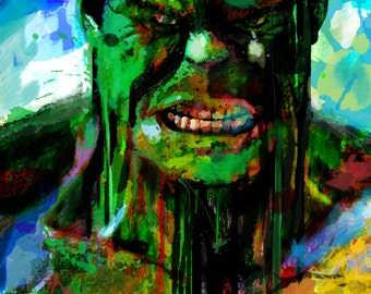 Popular items for hulk art on Etsy