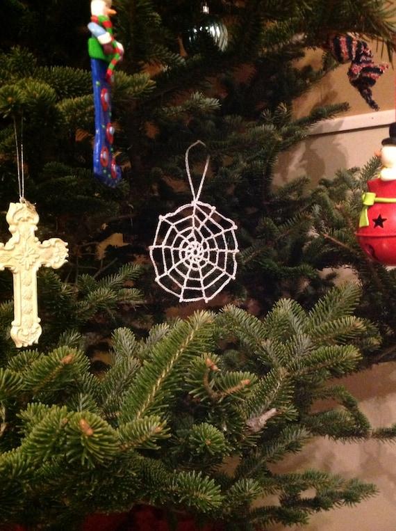 Ukrainian Spider Web Christmas Ornament