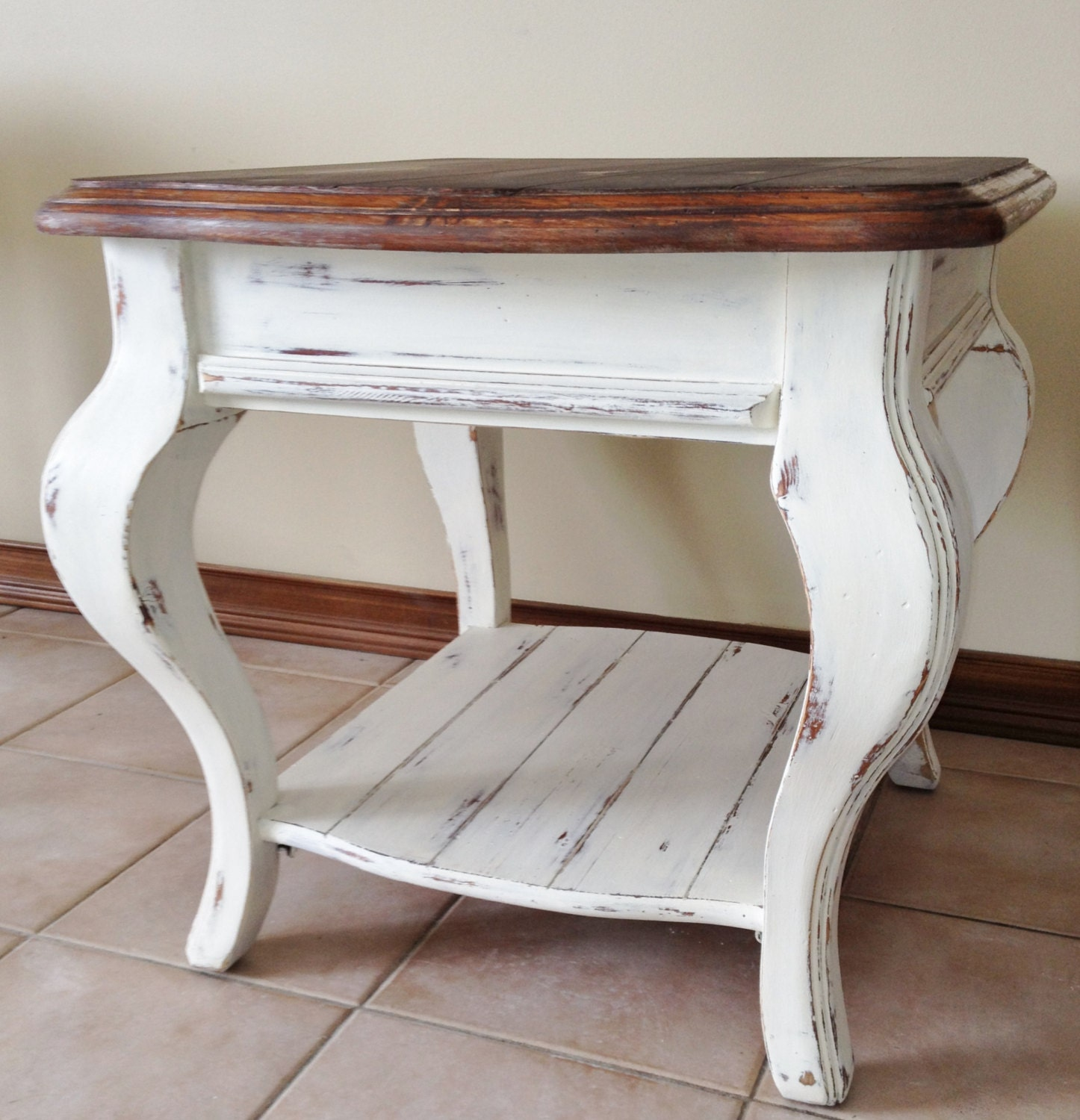 35 Best Images About Refinished Oak Tables On Pinterest: SOLD!!!!!Rustic Farmhouse/Cottage End Table Refinished