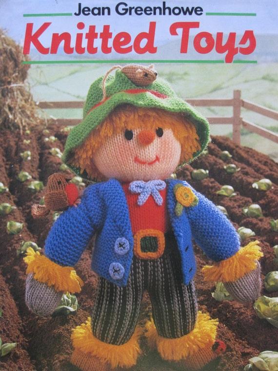 50 Jean Greenhowe Knit Patterns Toys Dolls Knitting Book